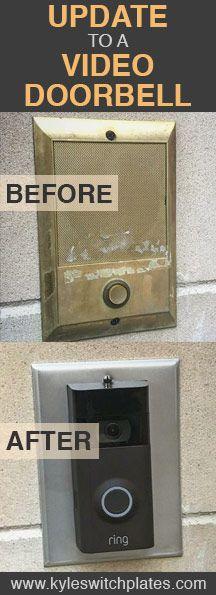 Update old doorbell & intercom speaker to Ring 2 video doorbell system.