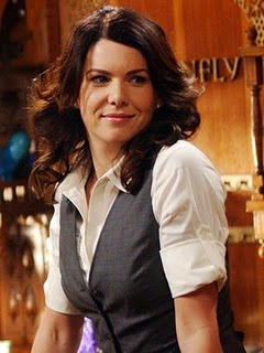 Lorelai's got her problems, for sure, but there's not much can stop her when she decides to do something. Also, she's wearing a vest.