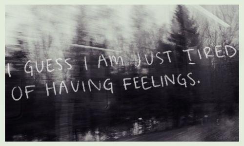 feelings...   isfp   sometimes...