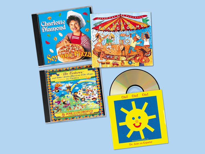 Sing in Spanish CD Library