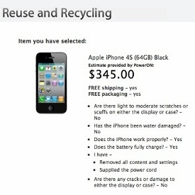 How to get the best price for your old iPhone: Apple Reuse and Recycling iPhone 4S