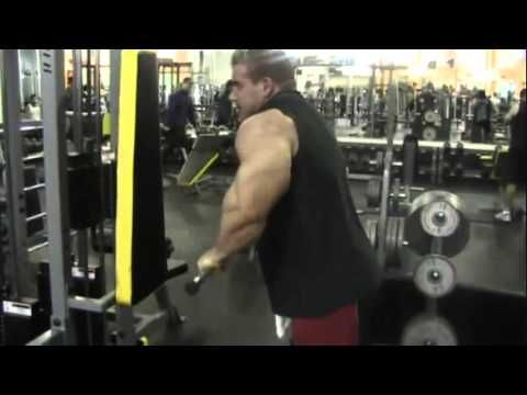 Jay Cutler - Arms Workout - June25