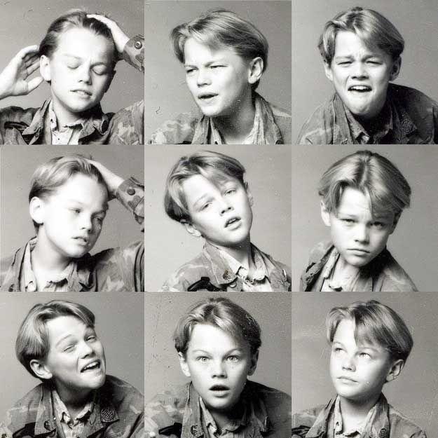 Leonardo DiCaprio borta på åttitalet