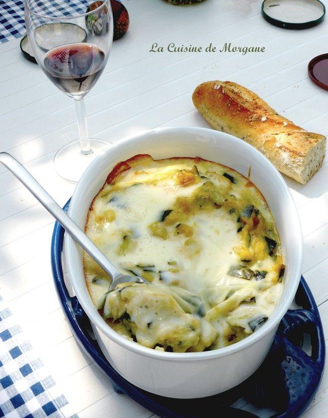 La Cuisine de Morgane - Gratin de courgettes à la cancoillotte