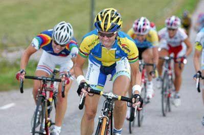 Susanne Ljungskog. World champion 2002, 2003