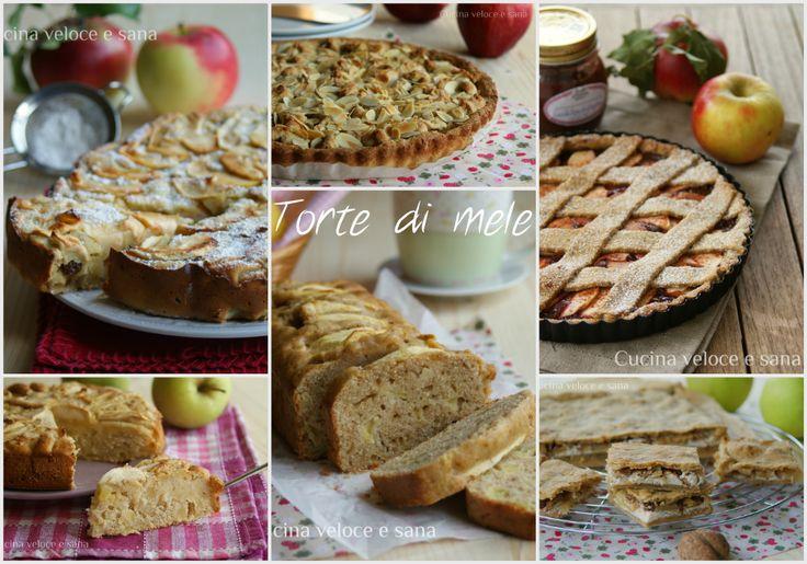 Torte di mele & co, raccolta di dolci con le mele. Qui trovi tutte le mie ricette di torte di mele e dolcetti facili e veloci con le mele.