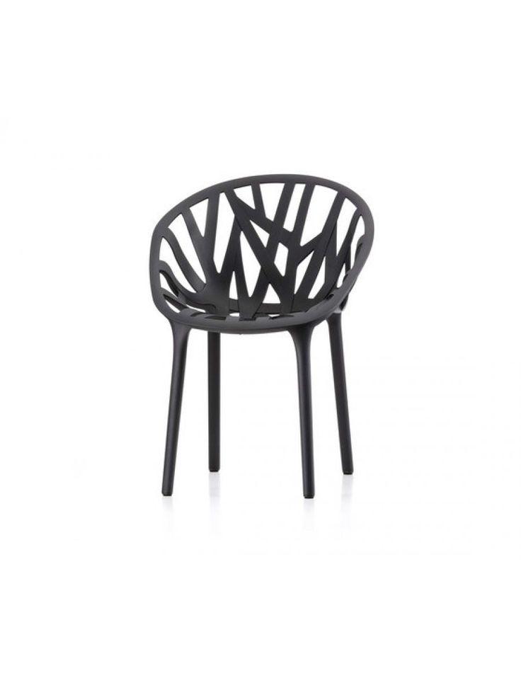 Vitra Vegetal stoel  Ontwerp: Ronan & Erwan Bouroullec  Leverbaar in 6 verschillende kunststof kleuren