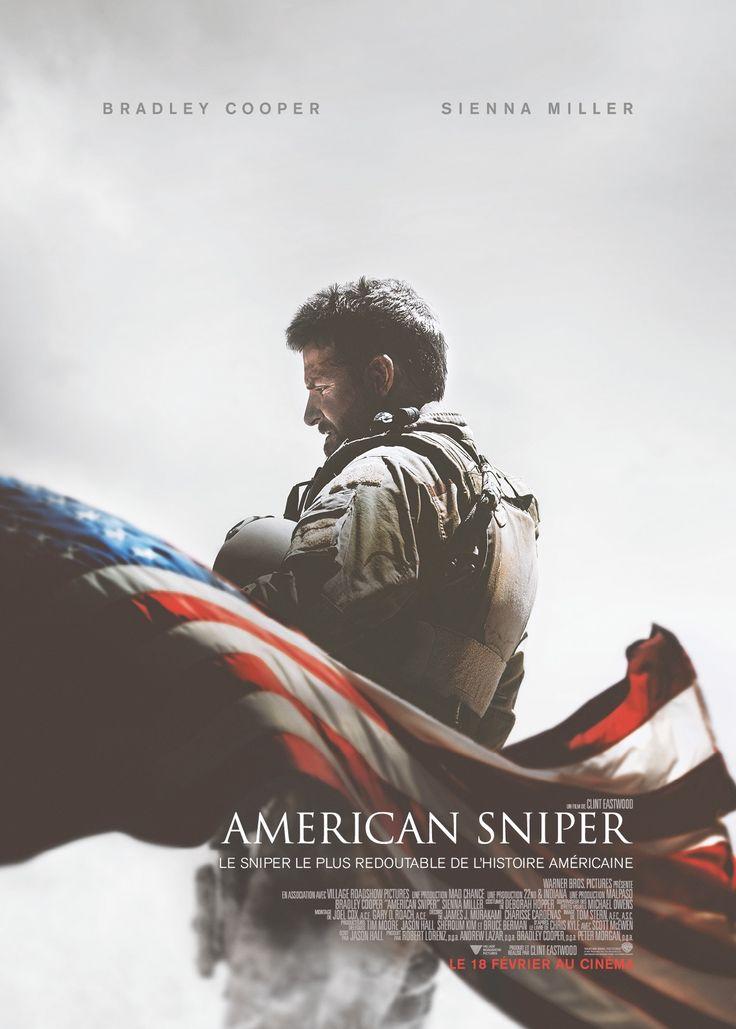"""2014 ‧ Drame/Action ‧ 2h 13m de Clint Eastwood avec Bradley Cooper, Sienna Miller - Tireur d'élite des Navy SEAL, Chris Kyle est envoyé en Irak dans un seul but : protéger ses camarades. Sa précision chirurgicale sauve d'innombrables vies humaines et, tandis que les récits de ses exploits se multiplient, il décroche le surnom de """"La Légende"""". Cependant, sa réputation se propage au-delà des lignes ennemies, si bien que sa tête est mise à prix et qu'il devient une cible privilégiée des…"""
