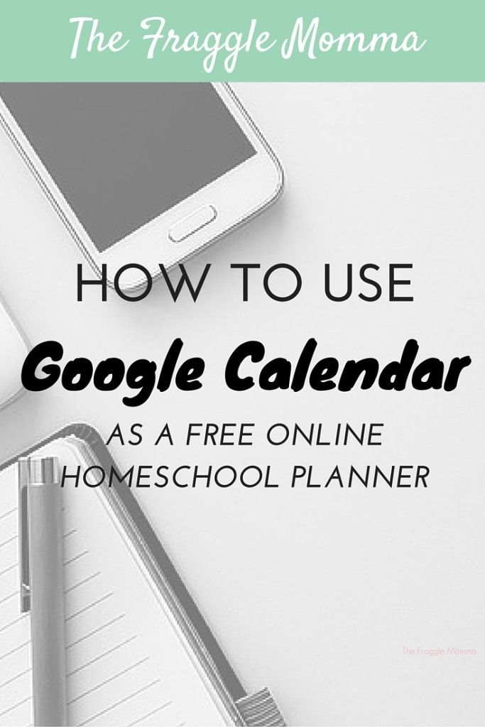 How to use Google Calendar as an amazing homeschool planner that sync's to EVERYTHING! This is a brilliant idea. I can finally stay organized haha!
