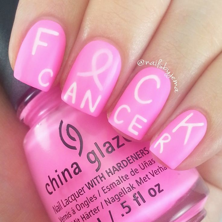 Nails By Jema: Breast Cancer Awareness Month 2 New Nails +Wrap Up