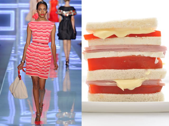 Christian Dior ss 2012 / Homemade mayonnaise for homemade sandwiches