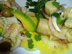 bacalao en escabeche puerto rico | ... bowl, alternating with the escabeche sauce. Marinade for 24 hours