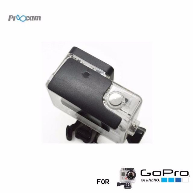 Proocam Pro-J130 The Lock Buckle design for Gopro Hero 4 3 3 2 1 camera waterproof housing case An excellent replacement for your aged or broken buckle Most intimate protection for your gopro camera.  The lock buckle for the housign of GoPro     High quality and low priceEquipped with larger and stronger screw,to provides more protection and secure to your Camera. The Latch is updated for easier installation,no longer moving about while you using it. Compatible with GoPro HD Hero 3  cameras…