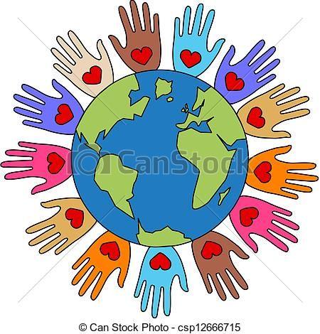 αγάπη, ειρήνη, ελευθερία, ποικιλία - csp12666715