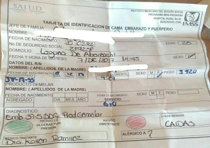 Exigen se investigue supuesta desaparición de gemelo recién nacido en el IMSS de Guachochi   El Puntero