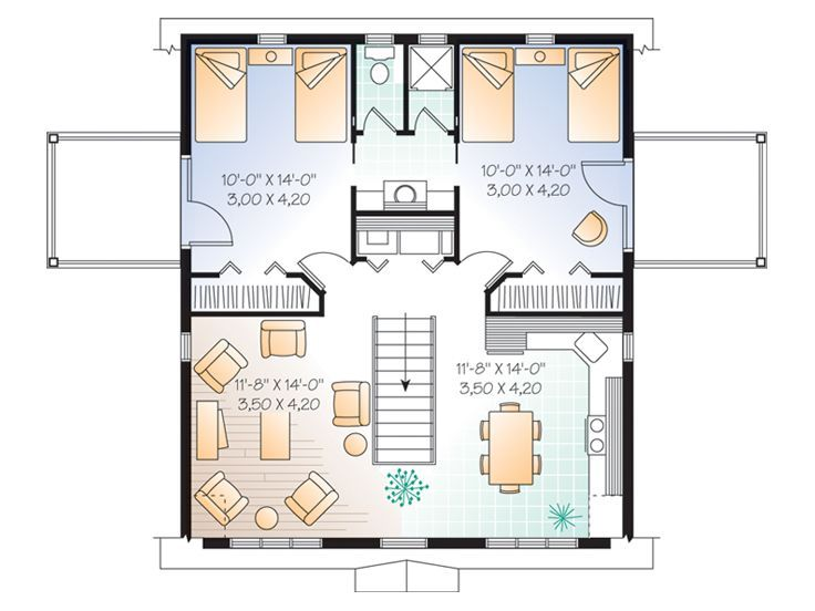 68 best garage apartments images on Pinterest | Garage apartments ...