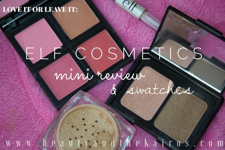 Elf Cosmetics Mini Review — Beauty And The Kairos