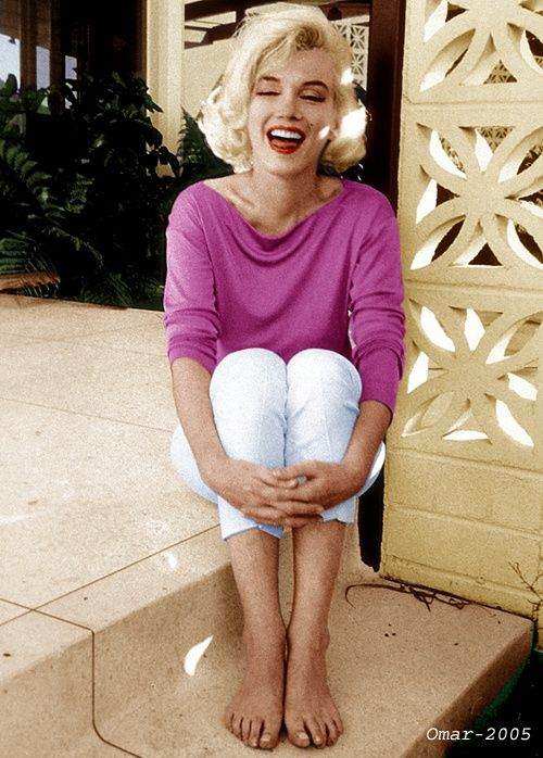 Marilyn Monroe photographed by George Barris,1962.