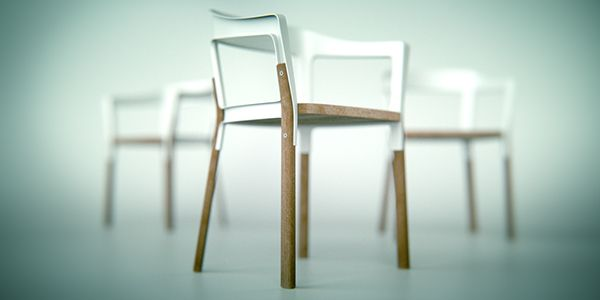 Magis Steelwood Chair on Behance