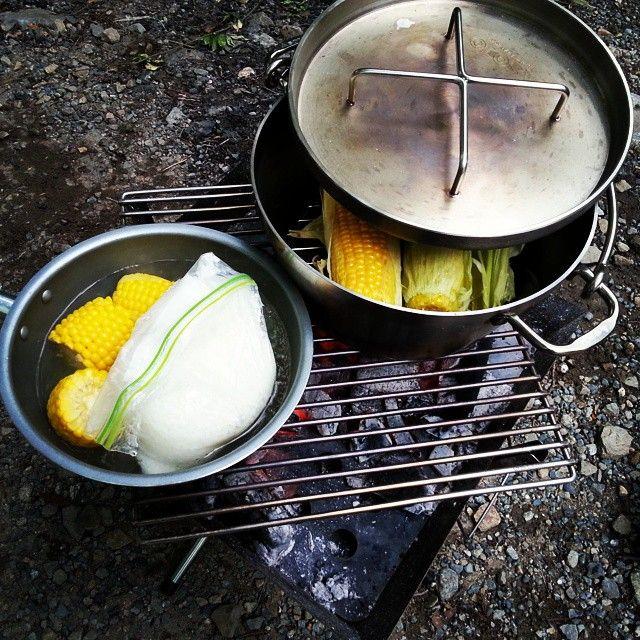 ジップロックで炊飯
