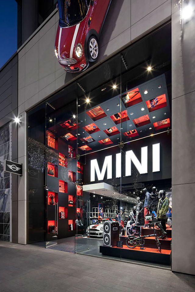 30 winning retail window displays: MINI Pop-Up Shop, London