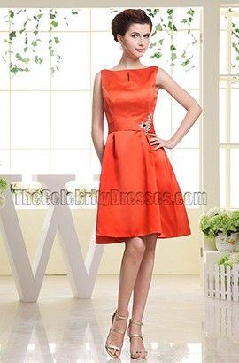 1000  ideas about Orange Cocktail Dresses on Pinterest  Orange ...