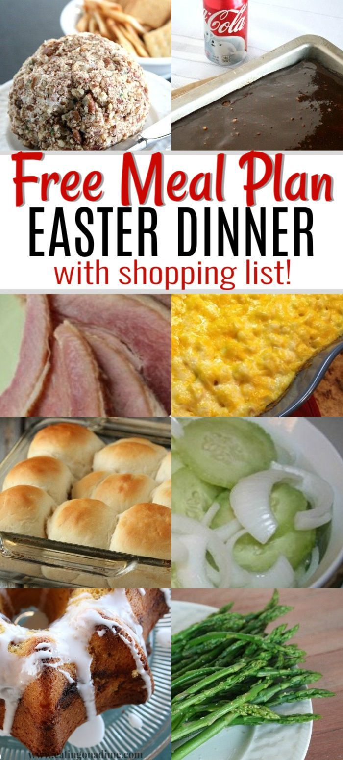 Easter Menu Ideas And Recipes The Best Easter Dinner Recipes Easter Dinner Recipes Easter Dinner Menus Easter Lunch Recipes