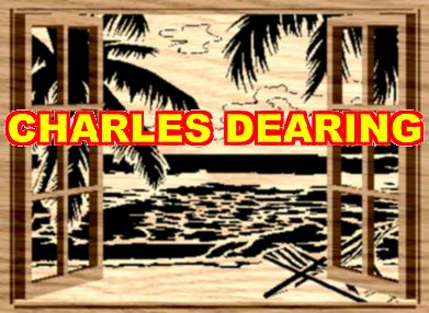 Relax and enjoy this beach scene shown through open windows from Scroll Saw Pattern designer Charles Dearing.