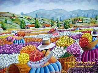 pintura peruana