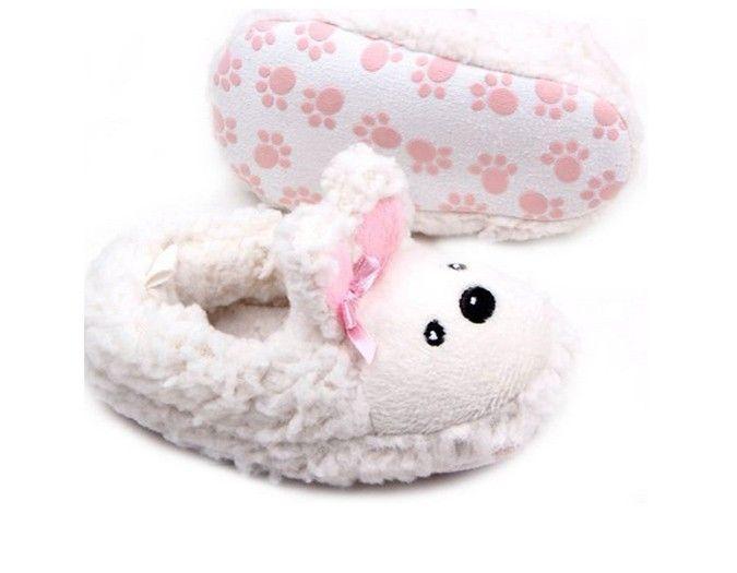 Pantoufles chaudes Creative Arbres en peluche Ameublement package créative avec des chaussons de bois BT9OE