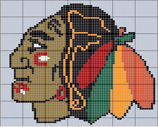 chicago blackhawks needlework patterns - Bing Images