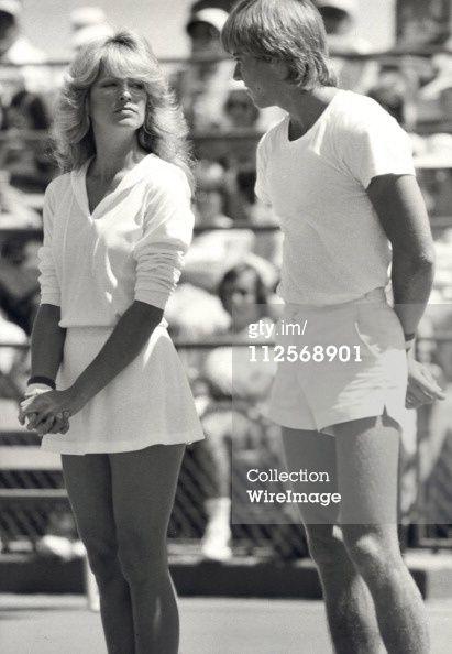 Farrah Fawcett and Vincent Van Patten