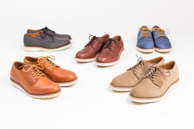 RED WING RELEASE SUMMER-FRIENDLY VERSION OF THE POSTMAN SHOE