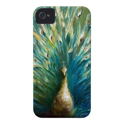 showoff-3-white-peacock-dina-dargo Case-Mate iPhone 4 cases
