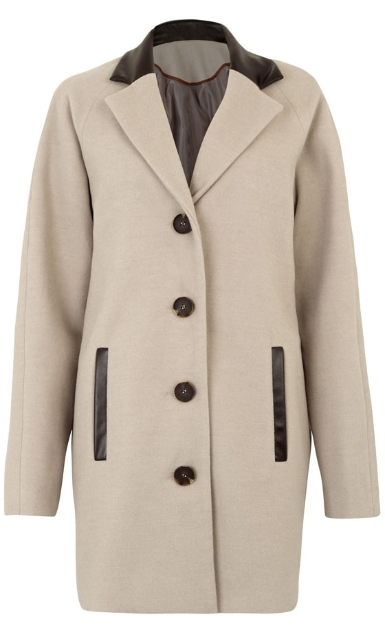 Primark Beige PU Coat, £35