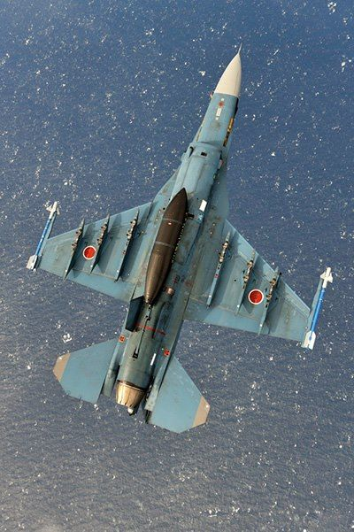 Mitsubishi F-2 - Japanese Air Self Defense Force (JASDF), Japan. Photo by Katsuhiko Tokunaga.