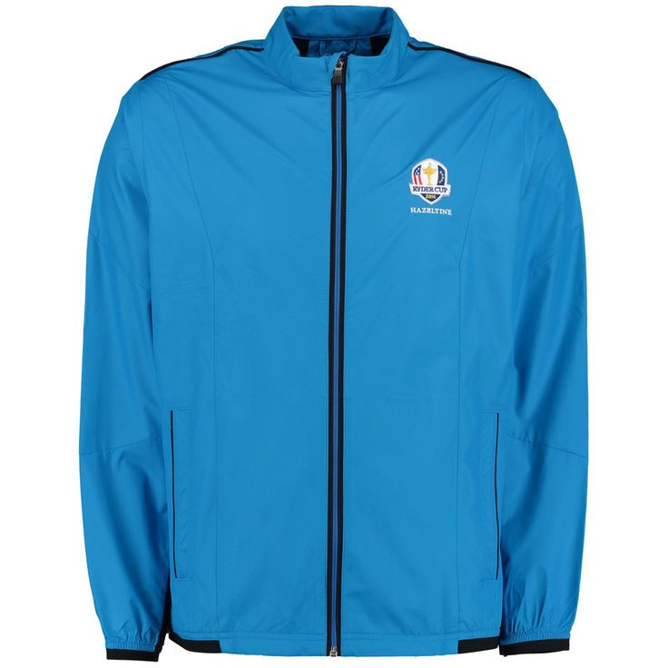 2016 Ryder Cup adidas Stretch climaproof Wind Jacket - Royal - $74.99