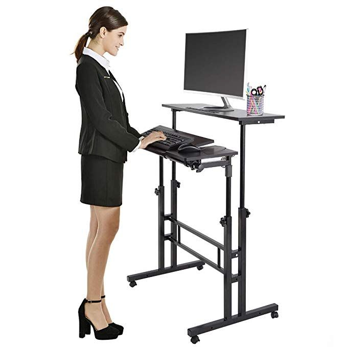 Cocoarm Stand Up Computer Desk Height Adjustable Standing Desk Sit Stand Conv Adjustable Height Standing Desk Adjustable Standing Desk Adjustable Height Stand