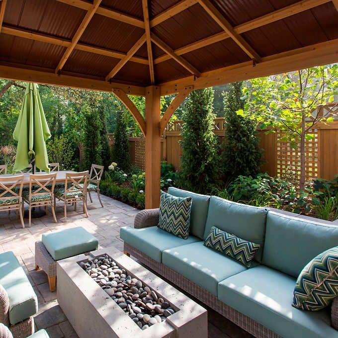 12 Great Ideas For A Modest Backyard: Best 25+ 12x12 Gazebo Ideas On Pinterest