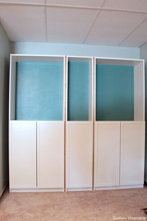 Billy Bookcase Doors Hack : 1000+ images about Carnegie Salon on Pinterest