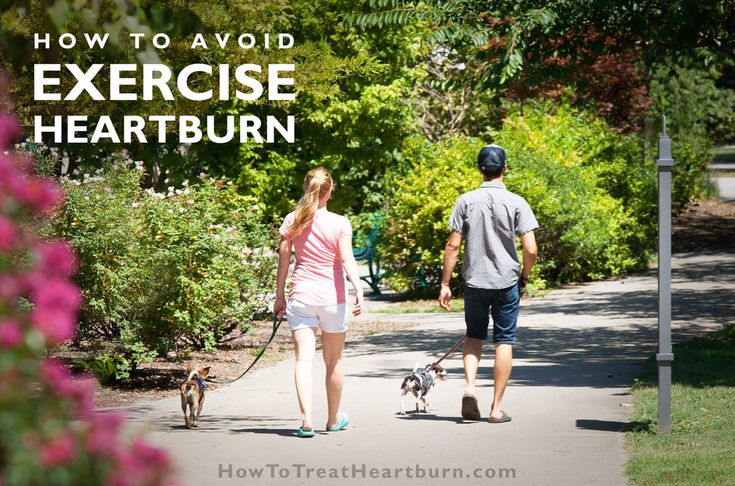 14 Ways to Avoid Heartburn During Workouts - How to Treat Heartburn