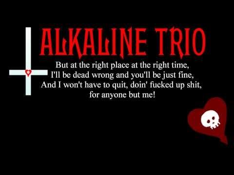 Alkaline Trio - Sadie Lyrics | SongMeanings