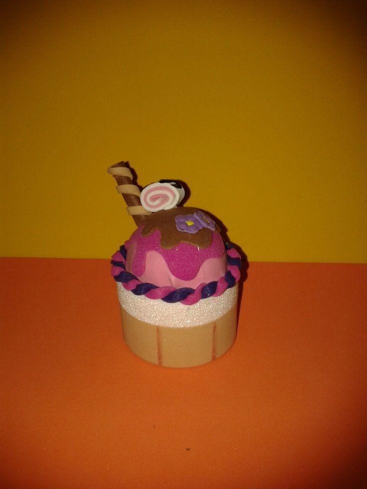 Cajita de cupcake