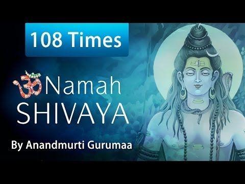 ▶ Om Namah Shivaya | 108 Times Chanting | Shiva Mantra - YouTube