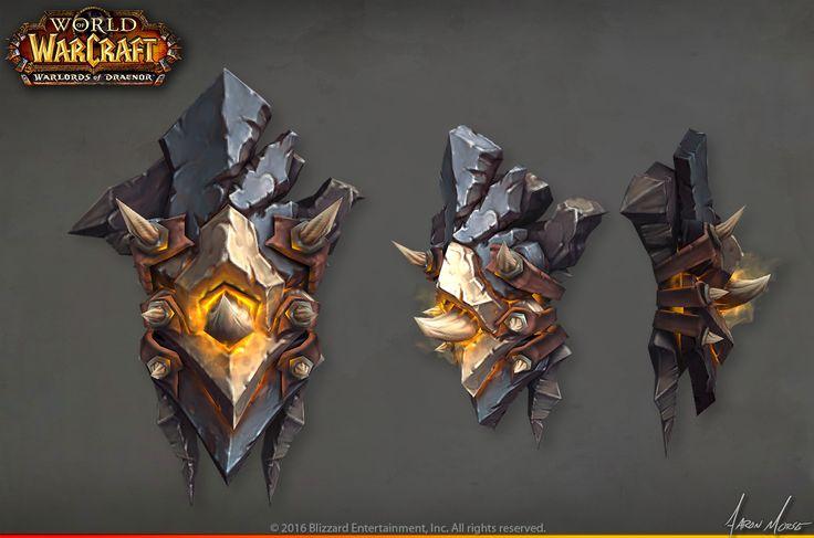 ArtStation - Warlords of Draenor Launch artwork, Aaron Morse