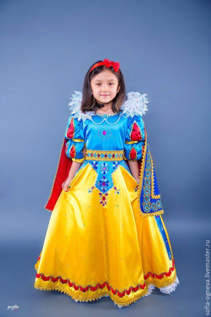 Купить Детский карнавальный костюм - карнавальный костюм, шелк натуральный, праздничное платье, костюм для девочки