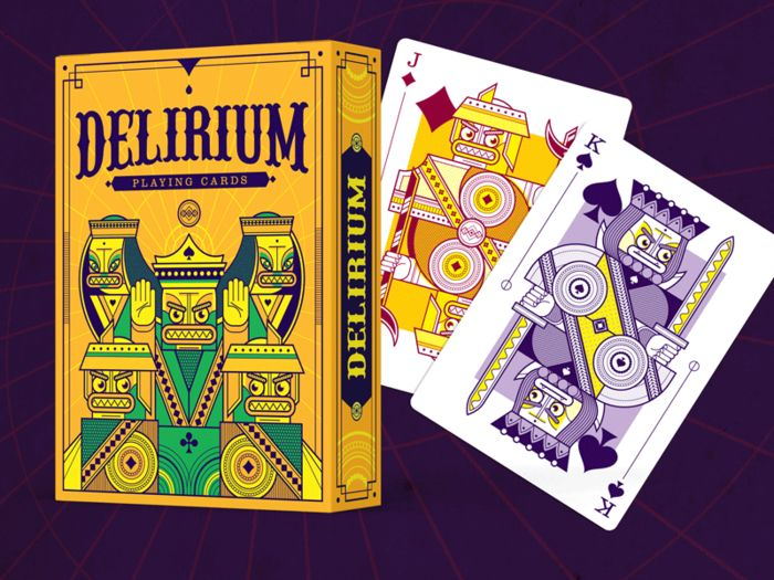 Delirium Playing Cards by Thirdway Industries — Kickstarter - https://www.kickstarter.com/projects/thirdwayind/delirium-playing-cards