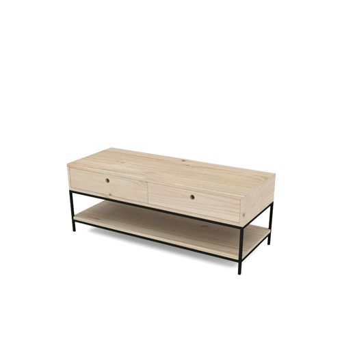 16mm Steel Classic Coffee Table with Drawers - Eco furniture design