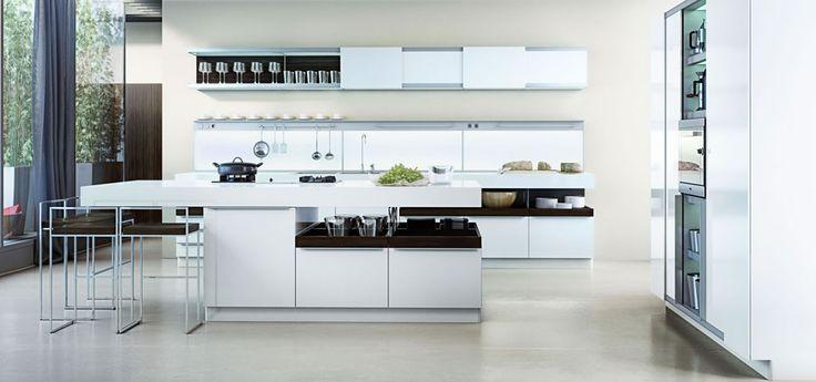 Witte keuken   Poggenpohl keuken   Eigenhuis Keukens