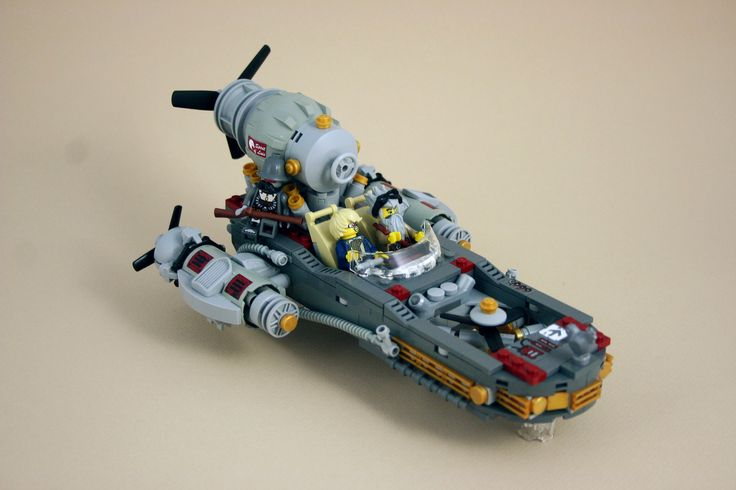 https://flic.kr/p/oCwbpj | X-4IR | A heavily modified version of Steam Works flagship X-4IR. Luke Steamwalker spends most of his lazy afternoons tinkering on his beloved steamspeeder, until one day when he met Ben the Mechanic and his life was changed forever.